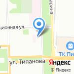 Детский сад №96 компенсирующего вида для детей с задержкой психического развития на карте Санкт-Петербурга