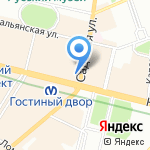 Консультационный гомеопатический кабинет на карте Санкт-Петербурга