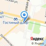 Российская библиотечная ассоциация на карте Санкт-Петербурга