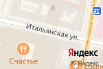 Схема проезда до компании Венская кофейня в Санкт-Петербурге