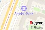 Схема проезда до компании Магазин верхней и женской одежды в Санкт-Петербурге