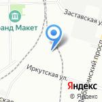 Реклама Лайт на карте Санкт-Петербурга