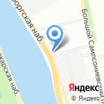 Авентура на карте Санкт-Петербурга