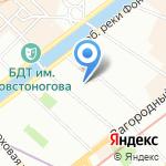 Мировые судьи Центрального района на карте Санкт-Петербурга