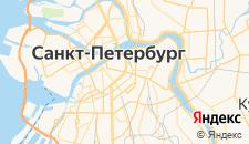 Отели города Санкт-Петербург на карте