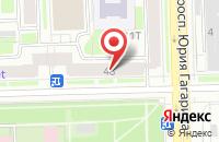 Схема проезда до компании Автопром в Санкт-Петербурге