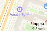 Схема проезда до компании QuestGuru в Санкт-Петербурге