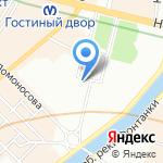Городская аварийно-восстановительная служба на карте Санкт-Петербурга