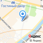 Rossi`s Club на карте Санкт-Петербурга