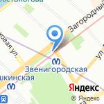 Арт-Лайн на карте Санкт-Петербурга