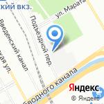 РОСС на карте Санкт-Петербурга