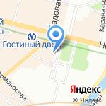 Винтаж и Антик на карте Санкт-Петербурга