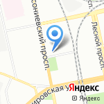 Схемотехника на карте Санкт-Петербурга
