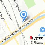 Главное бюро медико-социальной экспертизы по г. Санкт-Петербургу на карте Санкт-Петербурга