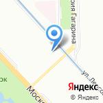 Глория Парк на карте Санкт-Петербурга