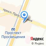Статус на карте Санкт-Петербурга