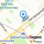 Детский сад №86 на карте Санкт-Петербурга