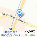 Пятёрка на карте Санкт-Петербурга