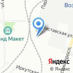 ОПЫТ на карте Санкт-Петербурга