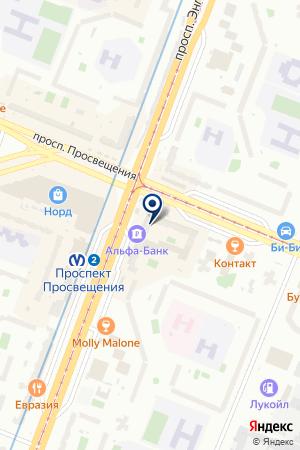 ThetaHealing Маргарита Любимова на карте Санкт-Петербурга