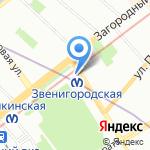 Транс В. Шиппинг на карте Санкт-Петербурга