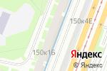 Схема проезда до компании Магазин тканей и штор в Санкт-Петербурге