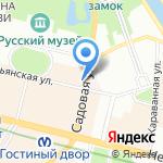 Роскар Трейд на карте Санкт-Петербурга
