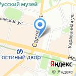 Центр регистрации бизнеса на карте Санкт-Петербурга