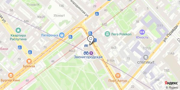 Гелиос. Схема проезда в Санкт-Петербурге
