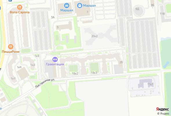 жилой комплекс Лиственный