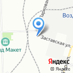 Северо-Западная Транспортная Компания на карте Санкт-Петербурга