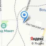 БалтСпецПром на карте Санкт-Петербурга