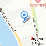 Фапиком Энерго на карте Санкт-Петербурга