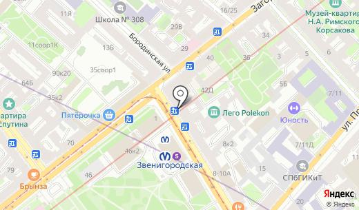 Народная семьЯ. Схема проезда в Санкт-Петербурге