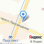 Магазин напитков и табачных изделий на карте Санкт-Петербурга