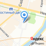 Театр Снаб на карте Санкт-Петербурга