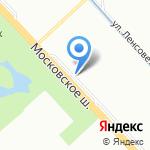 Арагва на карте Санкт-Петербурга