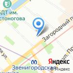 Эскалат на карте Санкт-Петербурга