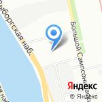 Дитон на карте Санкт-Петербурга