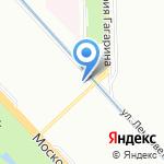 Online-parket на карте Санкт-Петербурга