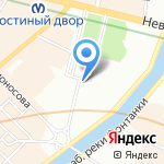 Санкт-Петербургский государственный музей театрального и музыкального искусства на карте Санкт-Петербурга