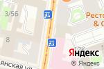 Схема проезда до компании ИТ-Аспект в Санкт-Петербурге