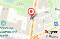 Схема проезда до компании Норд-Вест в Санкт-Петербурге