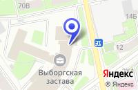 Схема проезда до компании ПТФ МЕГА-ВЕНТ в Санкт-Петербурге