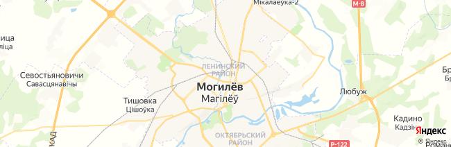 Могилев на карте