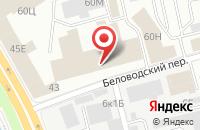 Схема проезда до компании Акцент Групп в Санкт-Петербурге