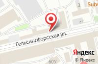 Схема проезда до компании Реклама-Xxi Век в Санкт-Петербурге