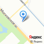 Евразия на карте Санкт-Петербурга