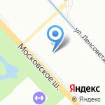 Эльми на карте Санкт-Петербурга