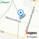 Водабурение на карте Санкт-Петербурга